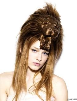 Nagi Noda's Wild Hair Hats at Colette ••