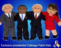Sarah Palin Cabbage Patch Kid Most Valued