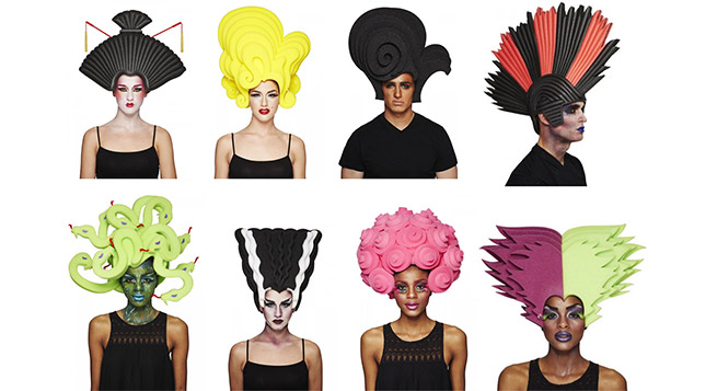 Big Fun Halloween Wigs Collection by Chris March for Target  Hats + Hair  ada0e91c5