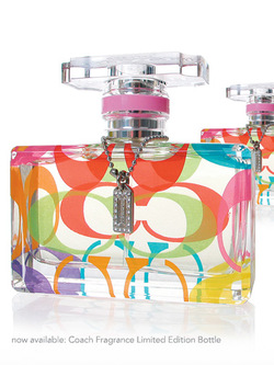New Coach Limited-Edition Bottle: Snatch It While You Can {Fragrance News}