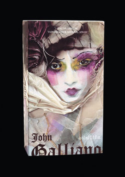 John Galliano by John Galliano (2008): Edgy Violets {Perfume Review & Musings} {Violet Notebook}