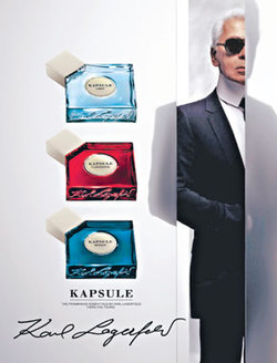 Karl Lagerfeld Kapsule: Vols. 1, 2, 3: Light, Floriental, Woody (2008) {New Fragrances}