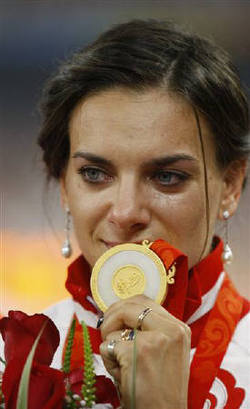 Gold Medalist Isinbayeva Wants to Create a Perfume for Strong Women {The 5th Sense in the News} {Celebrity Perfume}