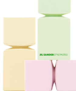 Jil Sander Style Blush Pink, Tender Green, Soft Yellow (2008) {New Fragrances}
