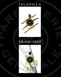 Parfumerie Générale Felanilla, Drama Nuuï (2008) {New Fragrances}