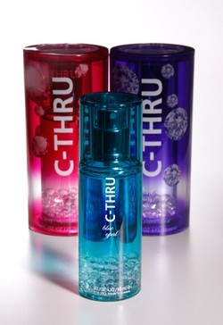 C-Thru Ruby, Purple Diamond, Blue Opal: Estee Lauder Cos.' New Mass-Market Line {New Perfumes}