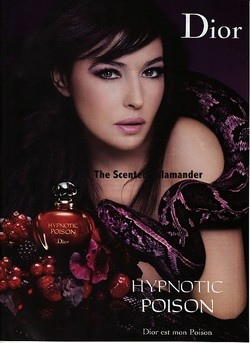 Monica Bellucci Plays Daughter of Eve for Dior Hypnotic Poison Ad {Perfume Images & Adverts - New}