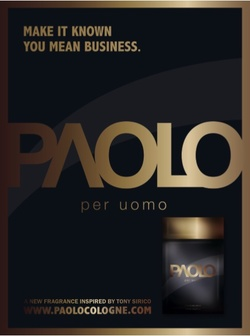 Tony Sirico Paolo Per Uomo (2008): The Sopranos' Touch {New Perfume} {Men's Cologne} {Perfume Ads}