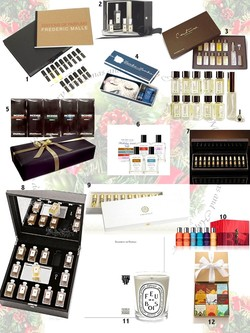 The Scented Salamander Perfume Holiday Gift Guide 2008 - Part 4: Fragrance Kits A Gogo {Shopping Tips}