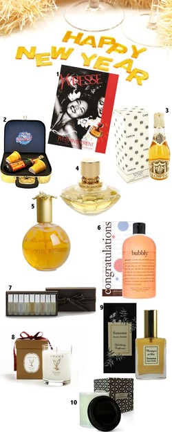 The Scented Salamander Perfume Holiday Shopping Guide 2008 - Part 5: Have a Taste of Champagne {Shopping Tips}