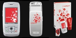 Samsung E 250 Cacharel Cellphone Smells of Amor Amor...ou presque {Fragrance News} {Fragrant Shopping}