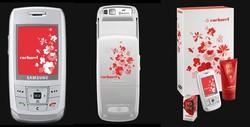 Samsung E 250 Cacharel Cellphone Smells of Amor Amor...ou presque {Fragrance News} {Fragrant Shopping}