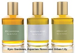 Strange Invisible Perfumes Epic Gardenia, Aquarian Roses, Urban Lily: 3 Modern Soliflores for Spring 09 {New Perfumes}