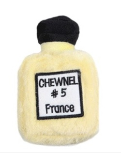 Chewy Toys for Snobby Dogs: Chewnel #5 France {Fragrant Shopping}