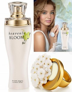 Victoria's Secret Dream Angels Heavenly Bloom (2009): Fronted by Miranda Kerr {New Perfume} {Celebrity Fragrance}