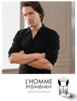 Yves Saint Laurent L'Homme (2006): Modern Man in a Museum {Perfume Review}