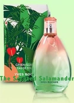Yves Rocher Green Summer (2009) {New Fragrance}