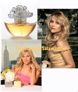 Reese Witherspoon In Bloom (2009) {New Perfume} {Celebrity Fragrance}