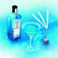 Celine Ellena & Thierry Hernandez Mix & Blend Bombay Bahia for Bombay Sapphire {Fragrant Recipe} {Fragrance News}