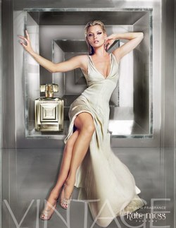 Kate Moss Vintage (2009): The Ad, The Notes {New Perfume}