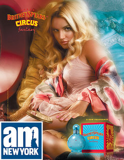 Britney Spears Circus Fantasy (2009) {Perfume Review} {Celebrity Fragrance}
