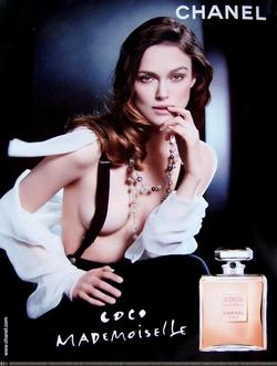 Keira Knightley Plays The Night Porter for Chanel Coco Mademoiselle