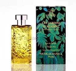 Parfums Nicolas Danila Les Jardins d'Aladin (2009): 7 Perfumes 100% without Allergens {New Fragrances - New Line}