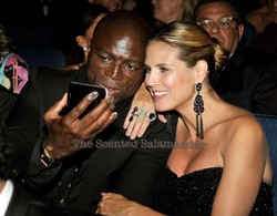 Seal Sports Gray Polish at the Emmys {Beauty Notes - Celebrity Beauty}