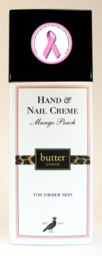 Think Pink: Butter London Pink Ribbon Lacquer, Mango & Peach Hand & Nail Cream {Beauty Shopping Tip}
