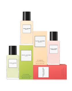 Marc jacobs Splash Collection Apple, Pomegranate, Biscotti (2010) {New Fragrances}