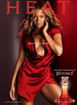 Beyonce Heat: The TV Commercial Served Sizzling Hot {Perfume Images & Ads} {Celebrity Fragrances}