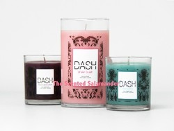 Kardashians & For Every Body Team Up: 3 DASH Candles for the 3-K Sisters (2010) {New Perfumes} {Celebrity Fragrances}