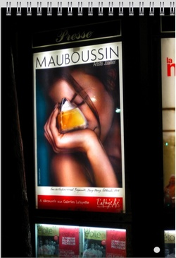 New Mauboussin EDP Perfume Ad - Win a Diamond {Fragrance Images & Adverts}