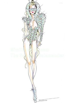 Lady Gaga Struts Armani and Prada on Monster Ball Tour {Fashion Notes} - What Perfumes Celebs Love to Wear {Celebrity Fragrances}
