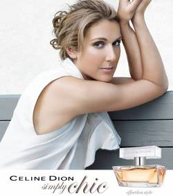 Celine Dion Simply Chic (2010) {New Perfume} {Celebrity Fragrances}