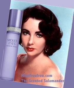 Elizabeth Taylor Violet Eyes by Elizabeth Arden (2010): It Begins with a Look {New Perfume} {Celebrity Fragrance}