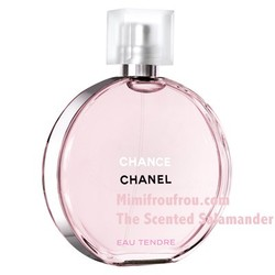 Chanel Calls Chance Eau Tendre its Third Generation of the Chance Fragrance Family (2010) {New Perfume}