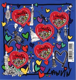 Lanvin Albert Elbaz Signs Two Parisian-Chic Postal Stamps {Fashion Notes}