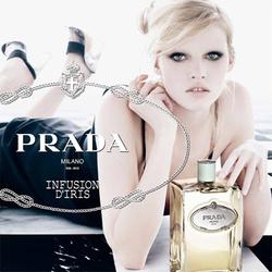 Prada Infusion d'Iris Eau de Toilette (2010): Fronted by Lara Stone {New Perfume}