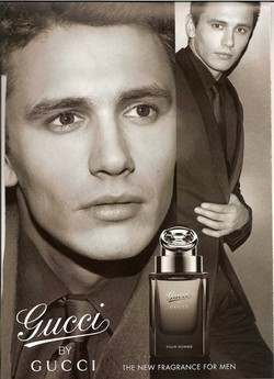 James Franco Lampoons Gucci Commercial: Gucci by Gukee {Perfume Images & Ads}