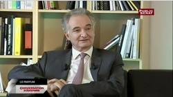 Jacques Attali Disserte sur le Parfum dans Conversations d'Avenir {Fragrance News}