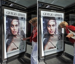 Armani Acqua di Gioia Gets Air-Pulsed at 5 Bus Stations in France {Fragrance News}