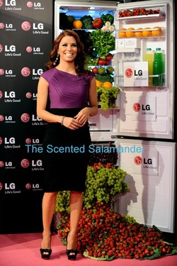 Eva Longoria's Fragrance Launch Party Movie {Celebrity Fragrance}