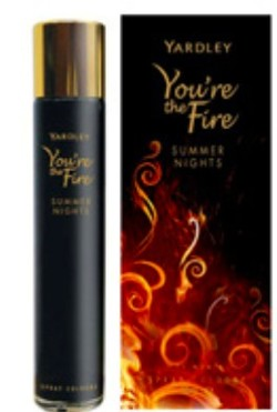 Yardley You're the Fire Summer Nights (2010) {New Perfume)