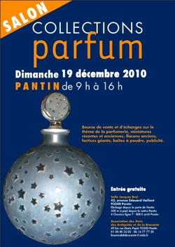 Salon Collections Parfum, 19th of December 2010 near Paris {Scented Paths & Fragrant Addresses}