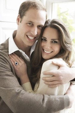 Prince William & Kate Middleton Photos by Mario Testino {What Perfume Celebrities Love to Wear - Beauty Notes}