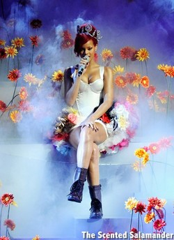 Rihanna Announces Debut Signature Perfume Reb'l Fleur (2011) {New Fragrance} {Celebrity Perfume}