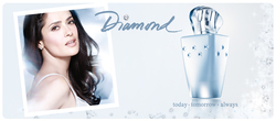 Avon Diamond (2010): Fronted by Salma Hayek {New Fragrance} {Celebrity Perfume}
