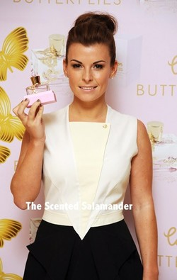 Coleen Rooney Coleen Butterflies (2010) {New Fragrance} {Celebrity Perfume}