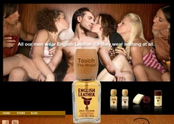 New Advert for Dana English Leather Does Not Exactly Hit the Subtle Spot {Perfume Images & Ads}